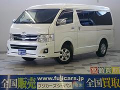 新潟県の中古車ならハイエースバン スーパーGL 4WD 3型 SDナビ LEDテール ベッド付