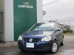 新潟の中古車 フォルクスワーゲン VW ポロ 車両価格 25万円 リ済別 2005年 6.7万K ダークブルー