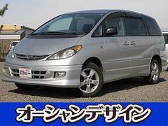 新潟県の中古車ならエスティマL アエラス 4WD メモリーナビ アルミ