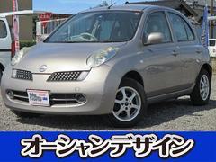 新潟県の中古車ならマーチ 12E インテリジェントキー ETC