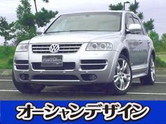 新潟県の中古車ならVW トゥアレグ W12 スポーツ 4WD サンルーフ HDDナビ