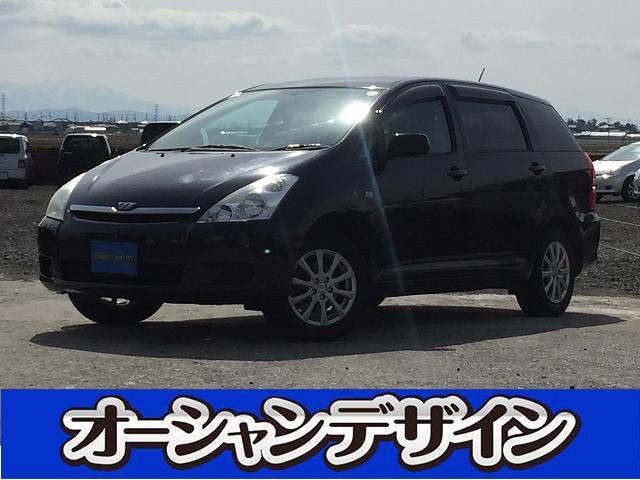 トヨタ ウィッシュ X 4WD DVDナビ ETC (車検整備付)