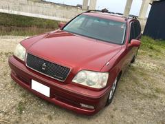 新潟の中古車 トヨタ クラウンエステート 車両価格 32万円 リ済込 平成14年 14.0万K レッド