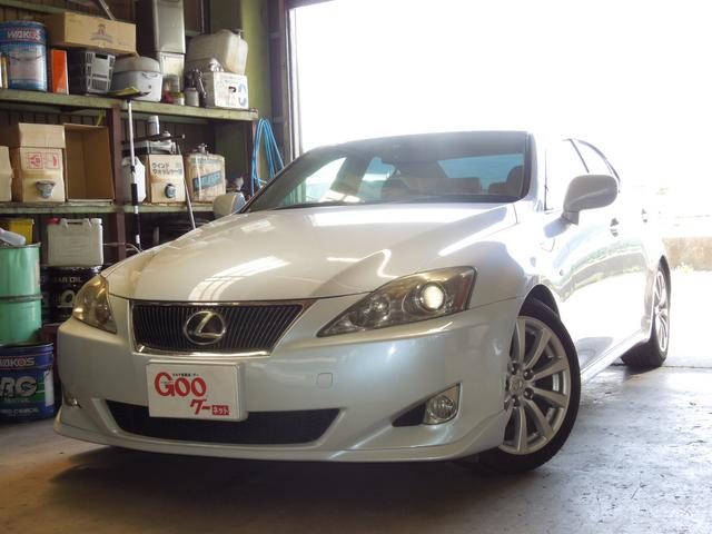 lexus is is250 version l 2006 pearl white 115 111 km details japanese used cars goo. Black Bedroom Furniture Sets. Home Design Ideas