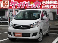 新潟県の中古車ならeKワゴン E 届出済未使用車 オーディオレス シートヒーター ABS