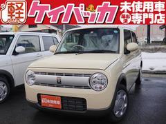 新潟県の中古車ならアルトラパン L 届出済未使用車 レーダーブレーキサポート シートヒーター