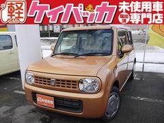 新潟県の中古車ならアルトラパン G 届出済未使用車 純正CDデッキ スマートキー
