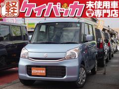 新潟県の中古車ならスペーシア G 届出済未使用車 スマートキー アイドリングストップ