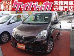 新潟県の中古車ならミライース Lf 4WD 届出済未使用車 アイドリングストップ