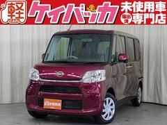 新潟県の中古車ならタント L 4WD 届出済未使用車 アイドリングストップ ABS