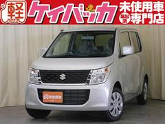 新潟県の中古車ならワゴンR FX 届出済未使用車 アイドリングストップ シートヒーター