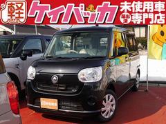 新潟県の中古車ならムーヴキャンバス L SAII 届出済未使用車 スマアシII 横滑り防止機能
