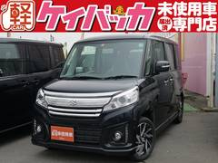 新潟県の中古車ならスペーシアカスタム XS 届出済未使用車 オーディオレス 両側PSドア HID