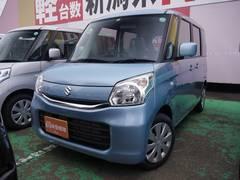 新潟県の中古車ならスペーシア G 届出済未使用車 スマートキー シートヒーター ABS