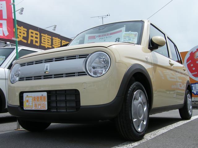 スズキ G インパネAT CD レーダーブレーキ 届出済未使用車