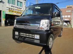 新潟県の中古車ならエブリイワゴン PZターボ  SDナビ地デジ 社外HIDヘッドライト・フォグ