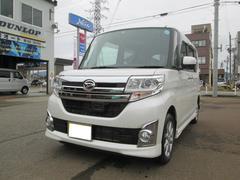 新潟県の中古車ならタント カスタムX SA 4WD ナビ フルセグTV バックカメラ