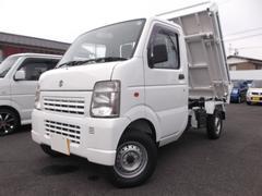 新潟県の中古車ならキャリイトラック 三転ダンプ 4WD