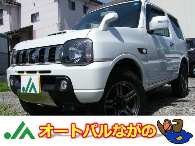 スズキ ランドベンチャー 4WD 5速MT ナビTV 革シート