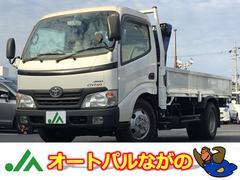 ダイナトラック4.0Dターボ 2t積 4WD 2t吊三段クレーンリモコン付