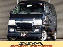 新潟県の中古車ならエブリイワゴン ジョイポップターボ 4WD オートマ ターボ キーレス