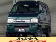 新潟県の中古車ならエブリイワゴン ジョイポップターボ 4WD