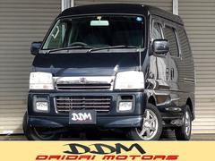 新潟県の中古車ならエブリイワゴン ジョイポップターボPZ 4WD タイミングチェーン キーレス