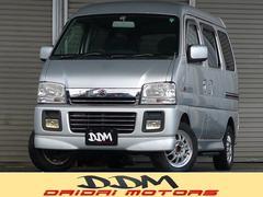 新潟県の中古車ならエブリイワゴン ジョイポップターボPZ 4WD 5速マニュアル ターボ