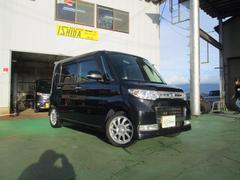 新潟県の中古車ならタント カスタムRS 東海仕入 プレミア1年保証 パワスラ HID