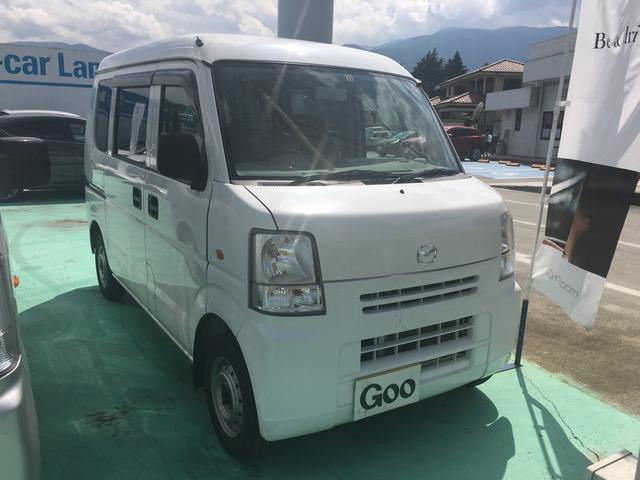 マツダ 4WD 5速マニュアル エアコン パワステ Wエアバッグ