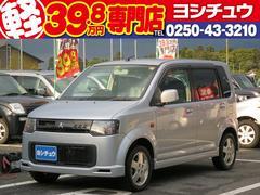 新潟県の中古車ならeKスポーツ R ターボ 純正アルミホイール ABS