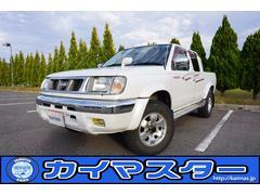ダットサンピックアップ3.2ディーゼル Wキャブ AXリミテッド 切替式4WD