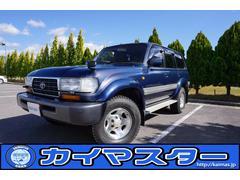 ランドクルーザー804.2ディーゼルTB VXリミテッド 4WD 背面タイヤレス