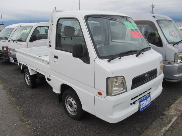 スバル サンバートラック TC 4WD EL付き5速MT 作業灯 ...