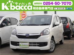 新潟県の中古車ならプレオプラス L 届出済未使用車 純正CDデッキ キーレス