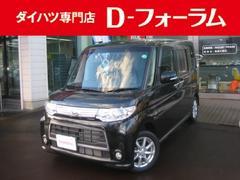 新潟県の中古車ならタント カスタムX HID フルセグHDDナビ オートスライドドア