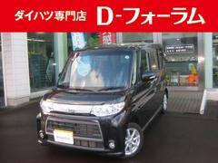 新潟県の中古車ならタント カスタムX HID フルセグナビ オートスライドドア