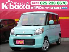 新潟県の中古車ならスペーシア G 届出済未使用車 4WD Sエネチャージ オーディオレス