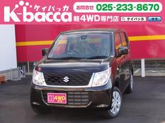 新潟県の中古車ならワゴンR FX 4WD 届出済未使用車 オーディオレス