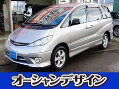 新潟県の中古車ならエスティマL アエラス 4WD CD ETC タイミングチェーン