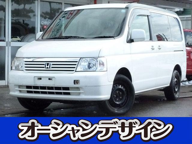 ホンダ ステップワゴン 4WD DVDナビ 地デジ (車検整備付)