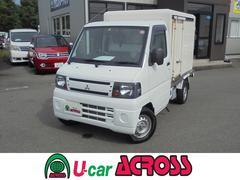 ミニキャブトラックVタイプ・保冷車・切替式4WD・エアコン・パワステ