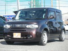 新潟県の中古車ならキューブ 15X Mセレクション CVT 社外15AW インテリキー