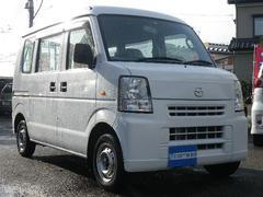 新潟県の中古車ならスクラム PA 切替4WD ワンオーナー 5速MT 両側スライドドア