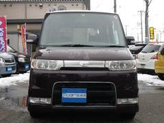 新潟県の中古車ならタント カスタムRS ターボ HID フォグ 15AW