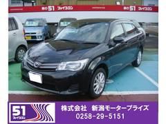 新潟県の中古車ならカローラアクシオ X 4WD 純正SDナビTV
