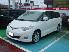 新潟の中古車 トヨタ エスティマ 車両価格 123.2万円 リ済別 平成18年 3.9万K ホワイトパールクリスタルシャイン