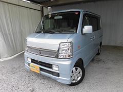 新潟県の中古車ならエブリイワゴン PZターボ ロールーフ ディスチャージ装着車