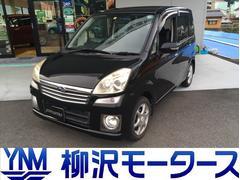 ステラカスタムR 純正エアロ&フォグ 4WD ワンオーナー