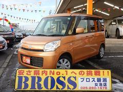 新潟県の中古車ならスペーシア X−4WD 電動スライドドア アイドリングストップ